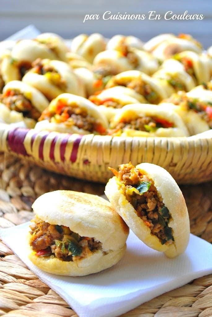 Batbouts 224 La Viande Hach 233 E Et Aux Poivrons Cuisinons En
