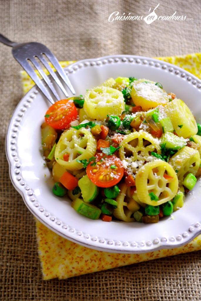 pates aux légumes