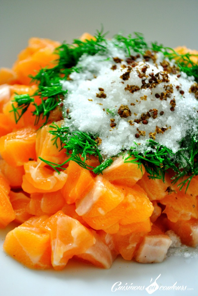 marinade saumon gravlax