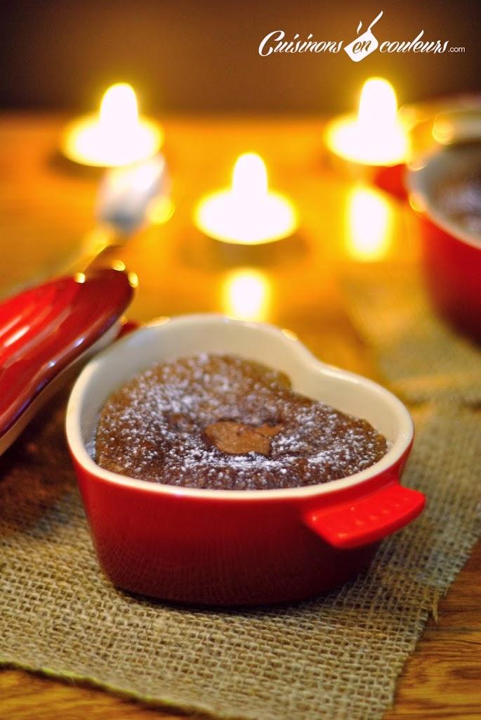 moelleux au chocolat et au nutella cuisinons en couleurs. Black Bedroom Furniture Sets. Home Design Ideas