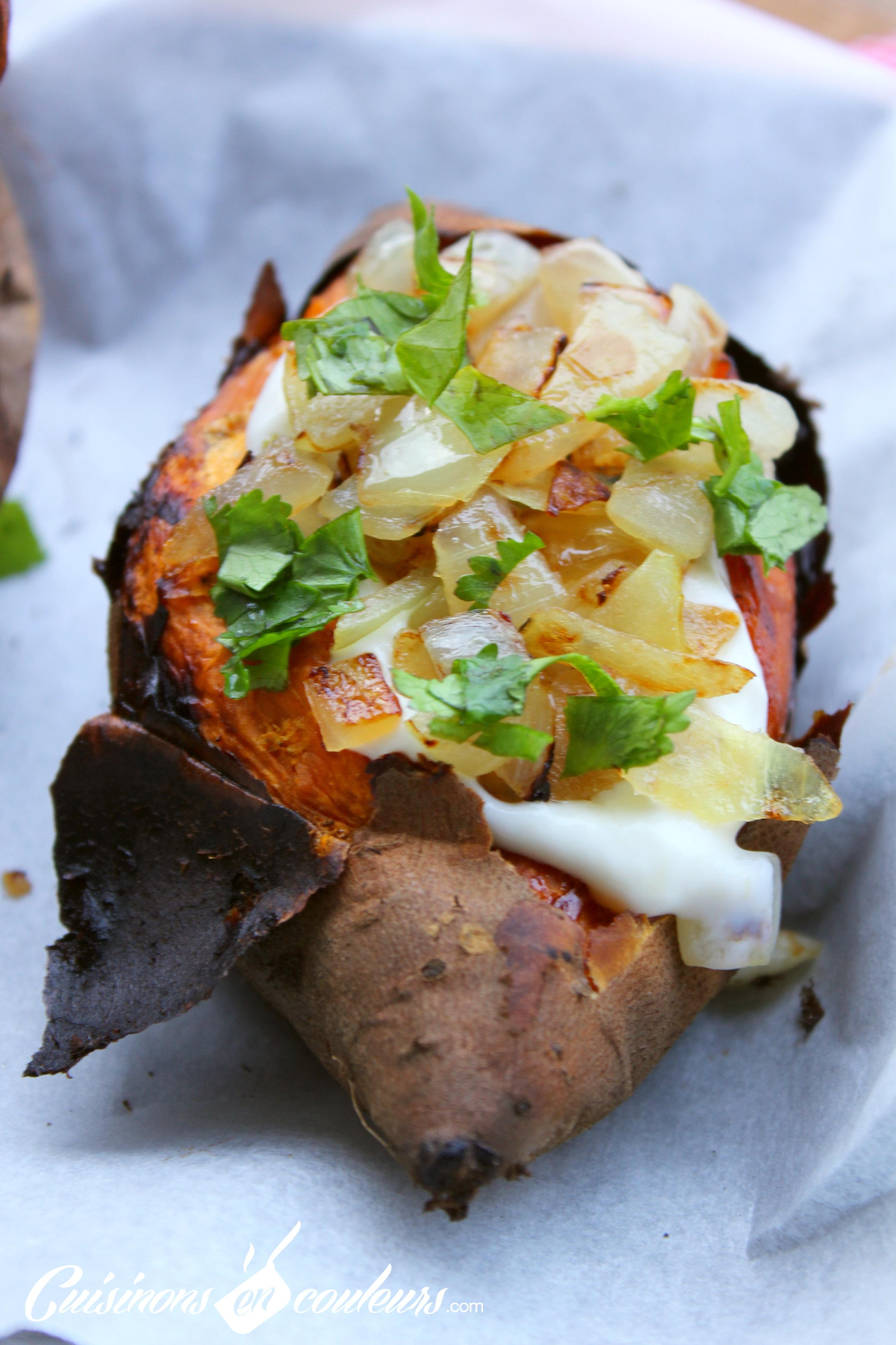 Patates douces r ties au four cuisinons en couleurs - Comment cuisiner la patate douce a la poele ...