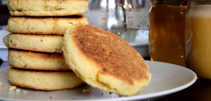 Harcha à l'anis pour un petit déjeuner marocain en deux trois mouvements !