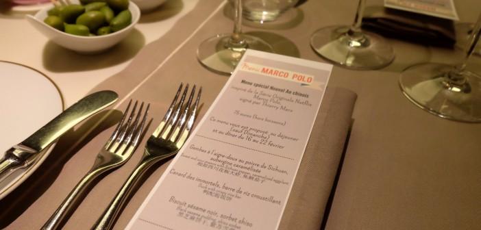 Le menu de Thierry Marx au  Mandarin Oriental comme à l'époque de Marco Polo… Et un abonnement de 6 mois à Netflix à gagner !