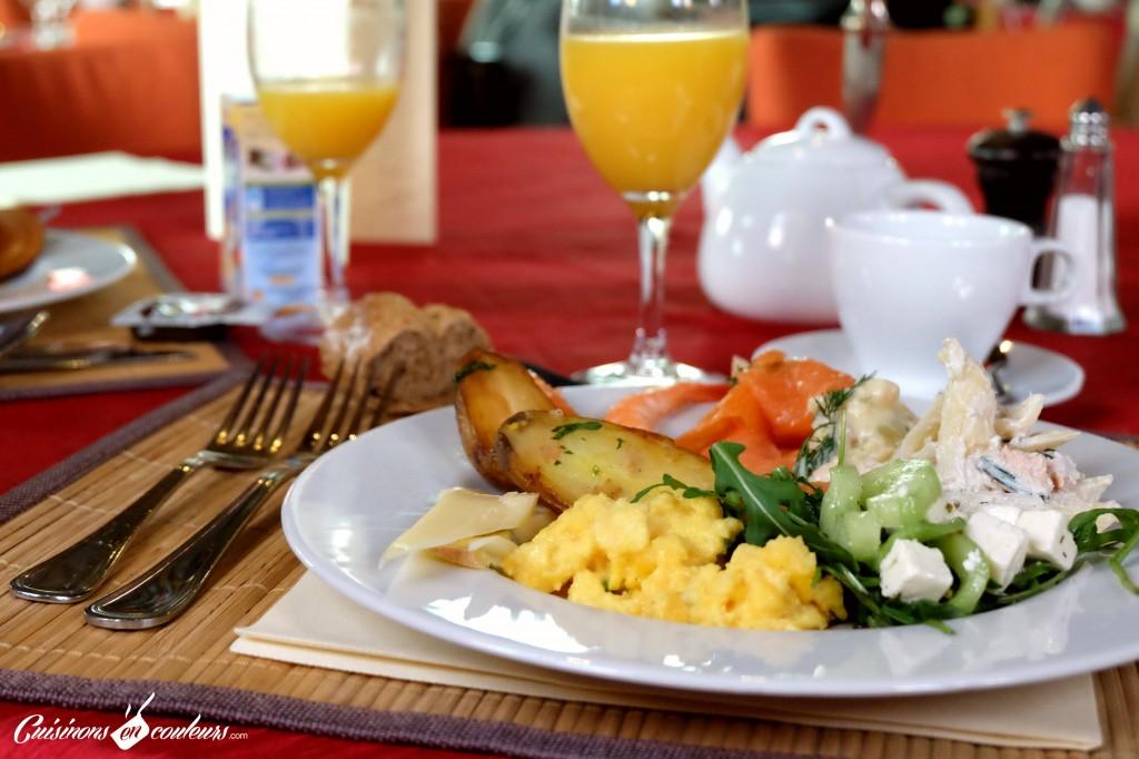 Assiette salée au Galion Paris 16