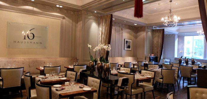Le 16 Haussmann, le restaurant du Paris Marriott Opéra Ambassador