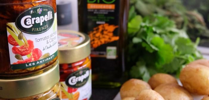 Salade de pommes de terre nouvelles façon Caponata