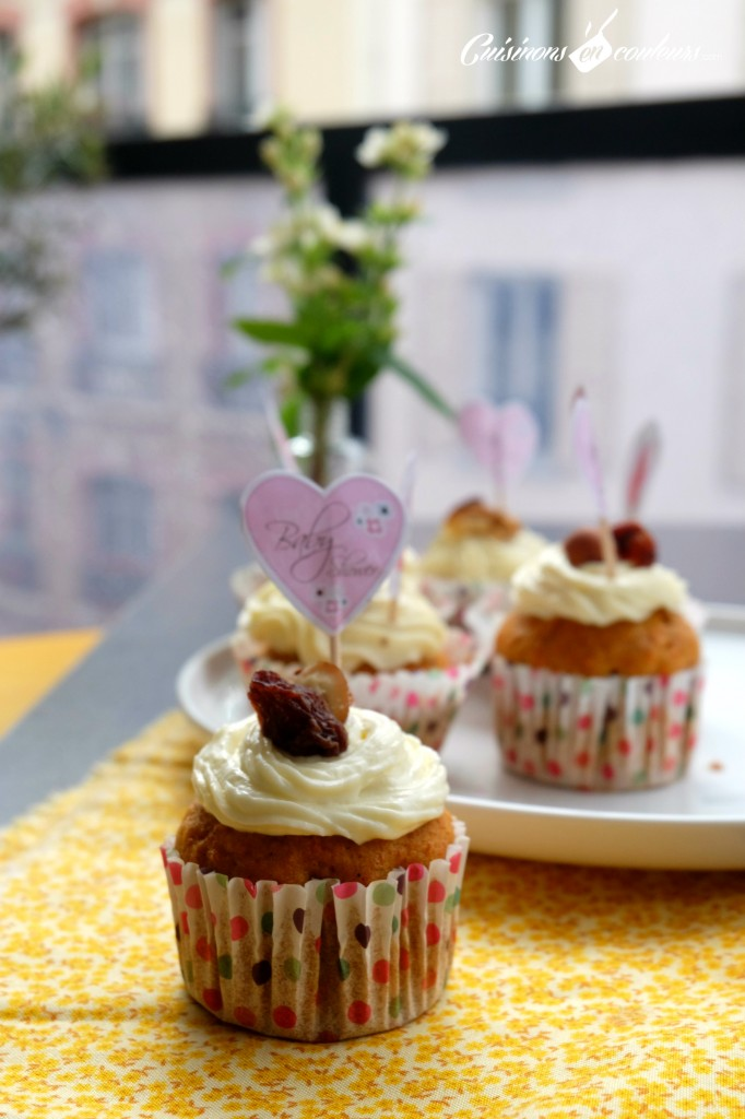 Carrot Cake façon Cupacake
