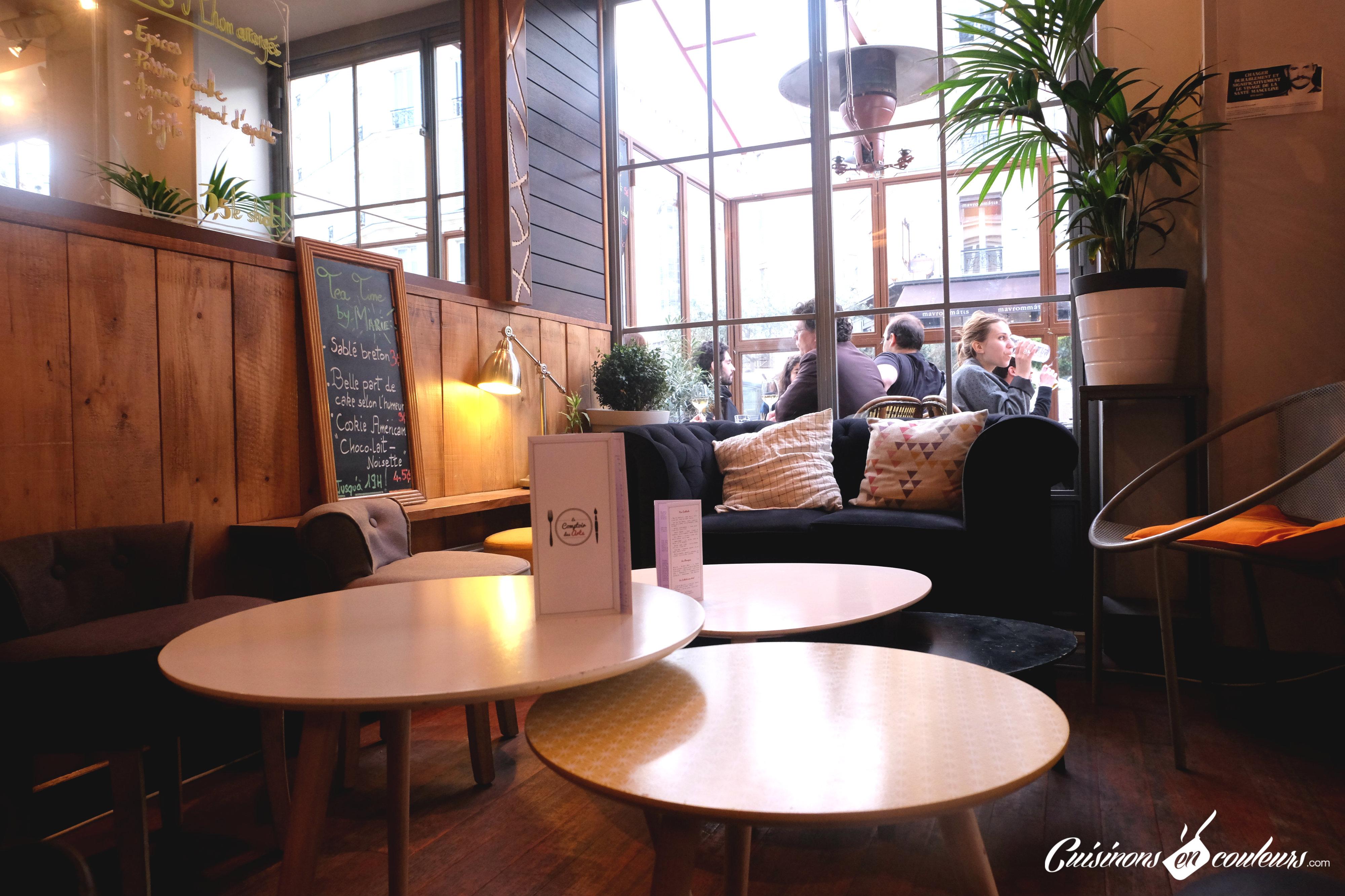 Le comptoir des arts une brasserie dans le 5 me for En cuisine qu est ce qu une girolles