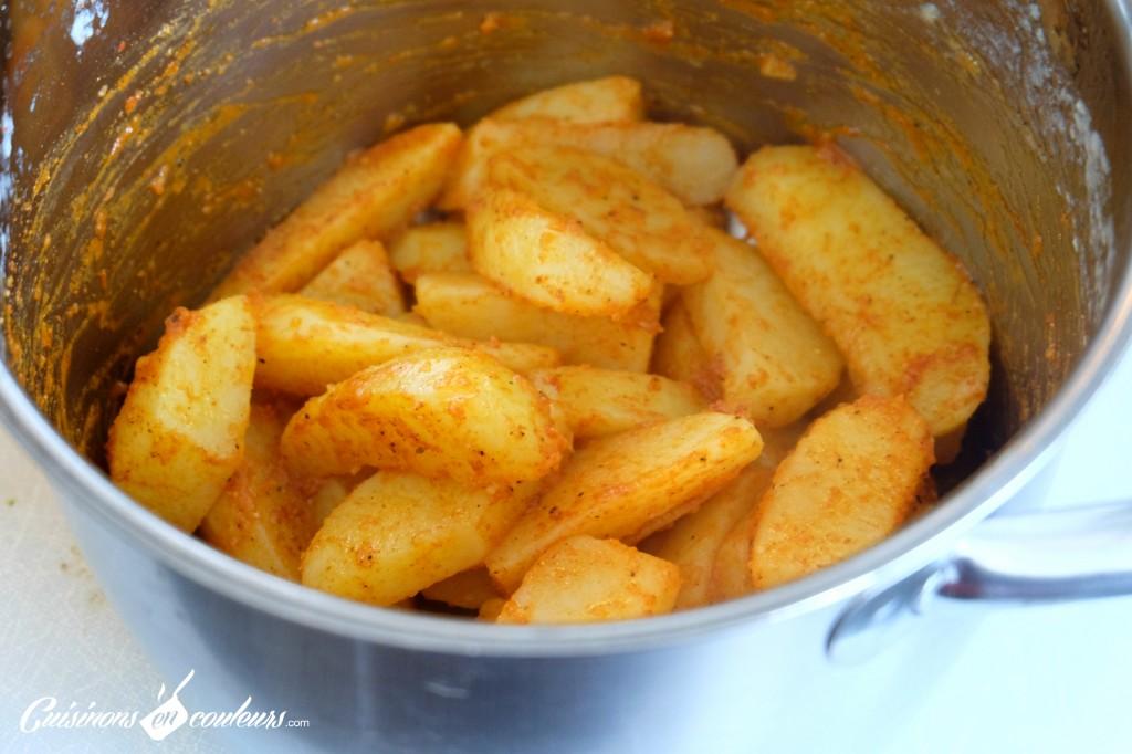 Potatoes marinées