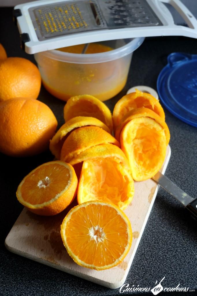Préparation de l'orangeade