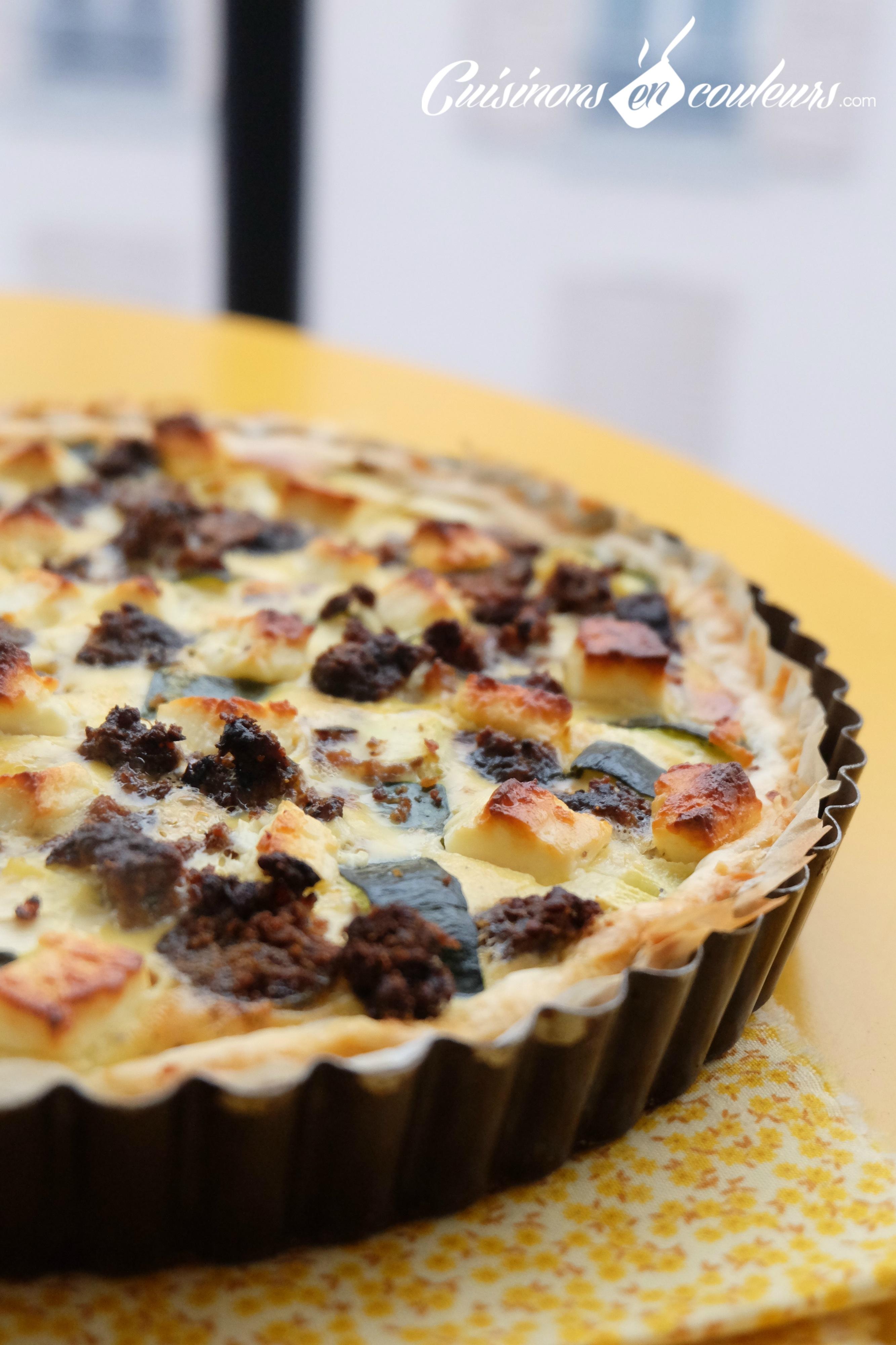 Cake Courgette Viande Hachee