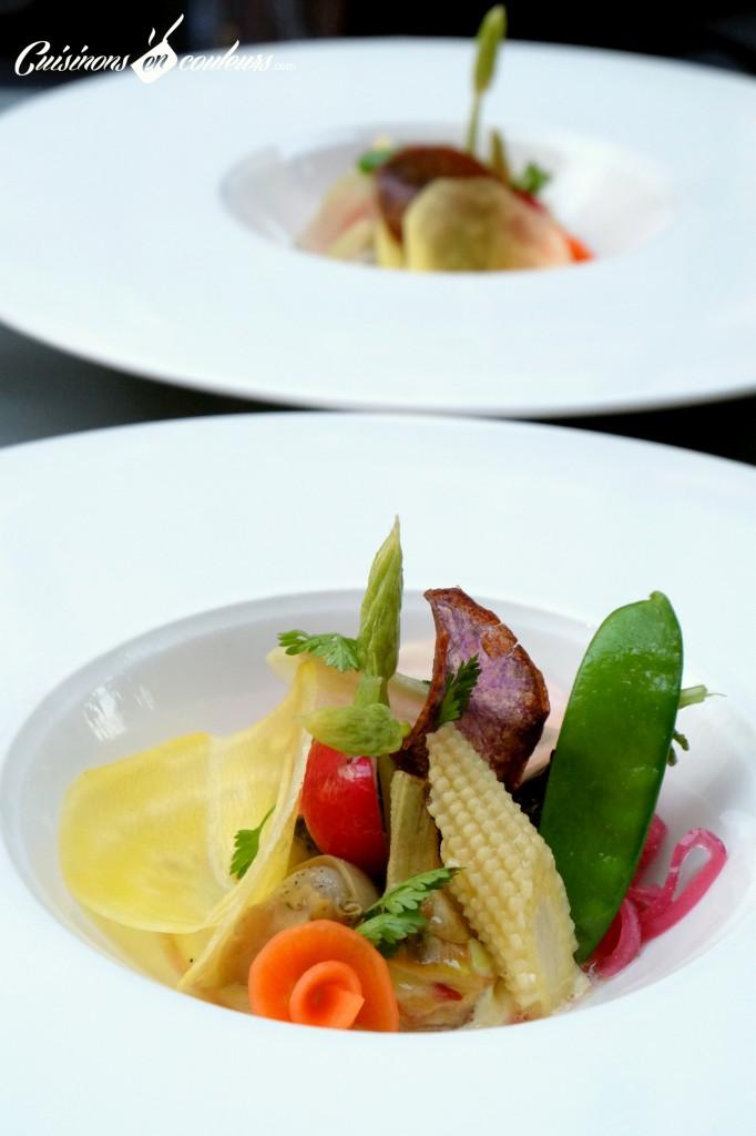 Aïoli, bulot, légumes croquants - Pas Sage Paris