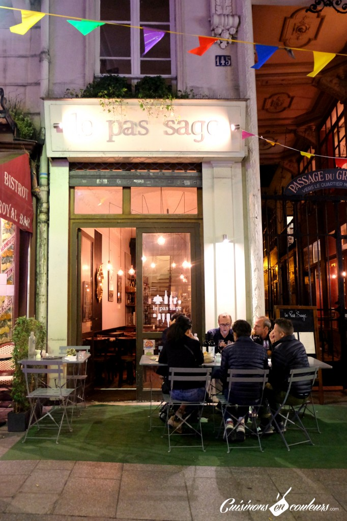 Le Pas Sage - Restaurant au Passage du Grand Cerf Paris