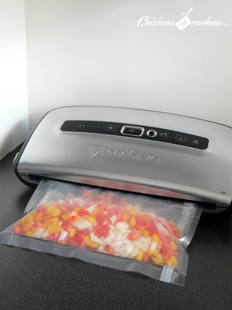 FoodSaver miracle anti gaspillage sac en cours