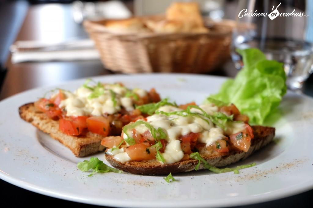Bruschetta - Roy's Pub