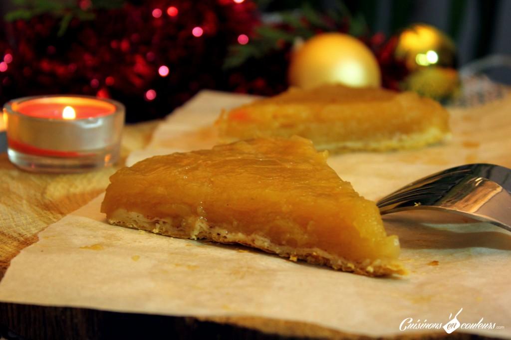tarte aux pommes legere