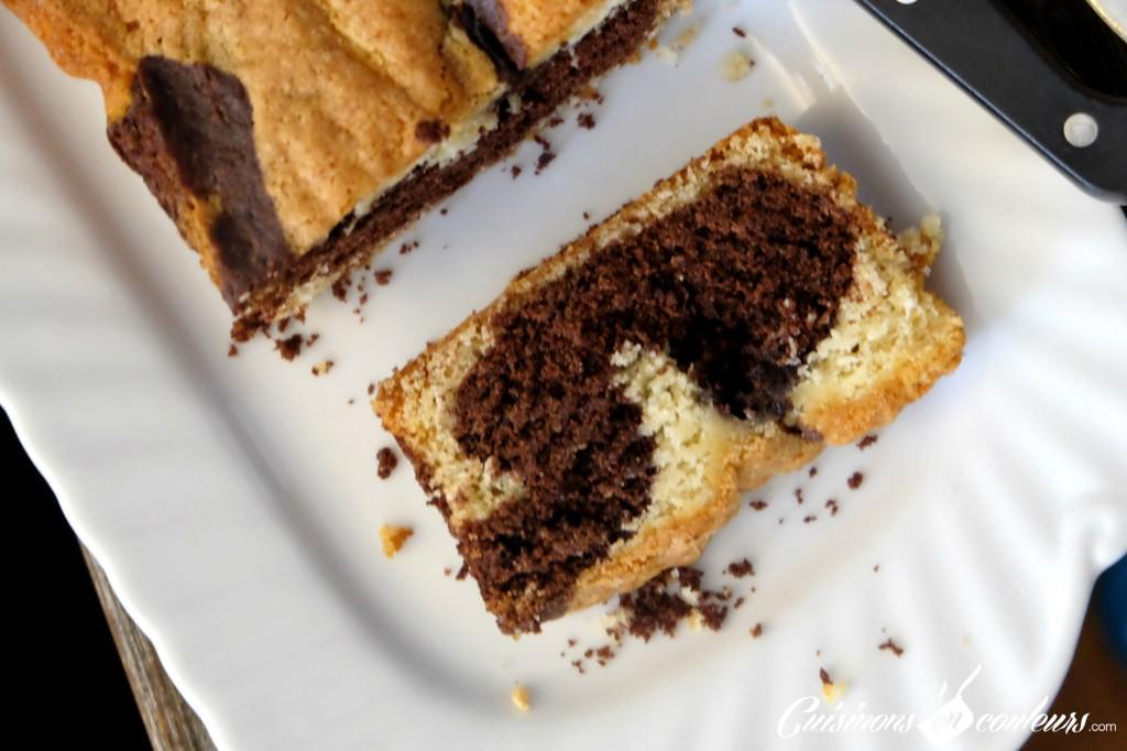 Cake Marbre Tranche