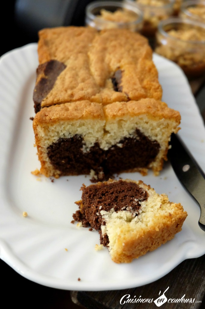 Cake Marbre trop bon