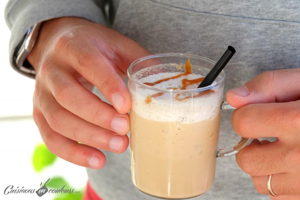 Frappuccino comme au Starbucks