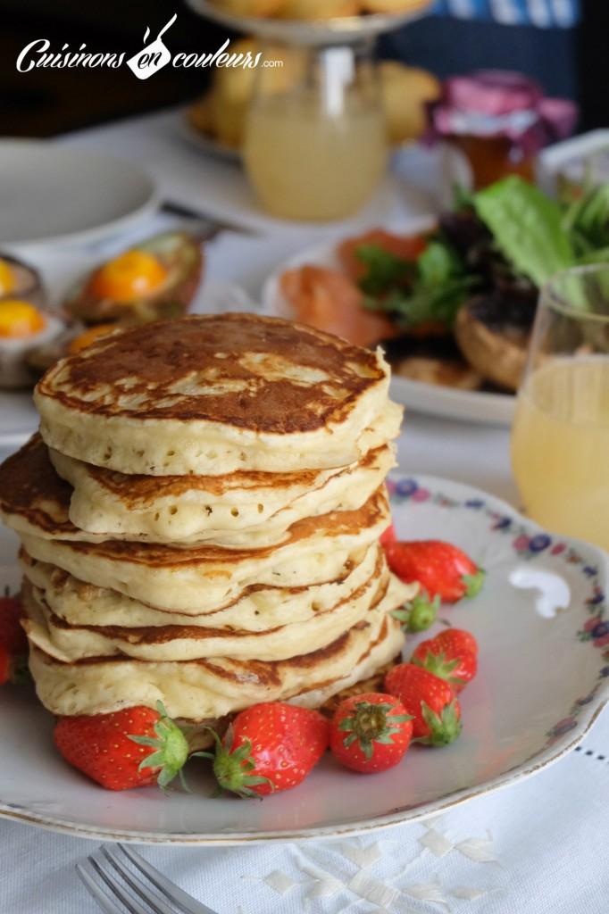 Pancakes (Recette Martha Stewart)