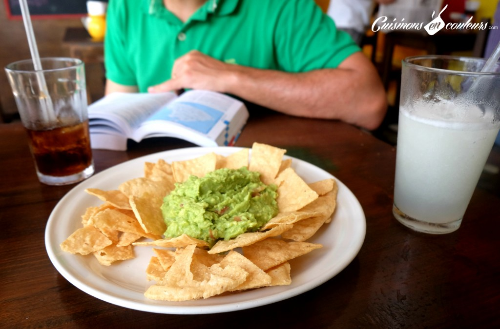 Guacamole a Isla Mujeres