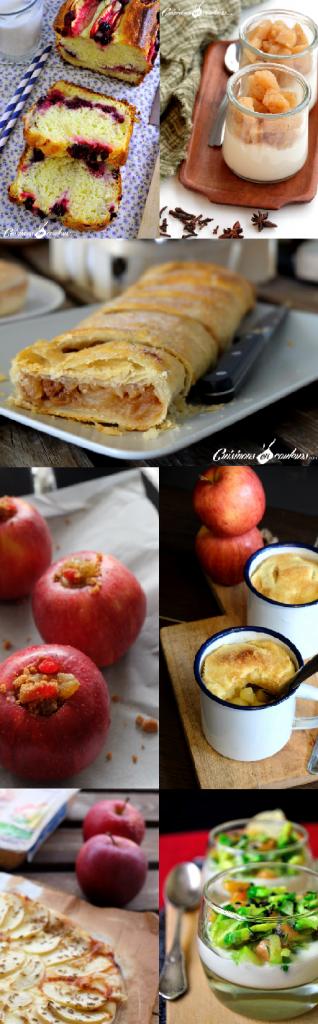 12 recettes avec des pommes