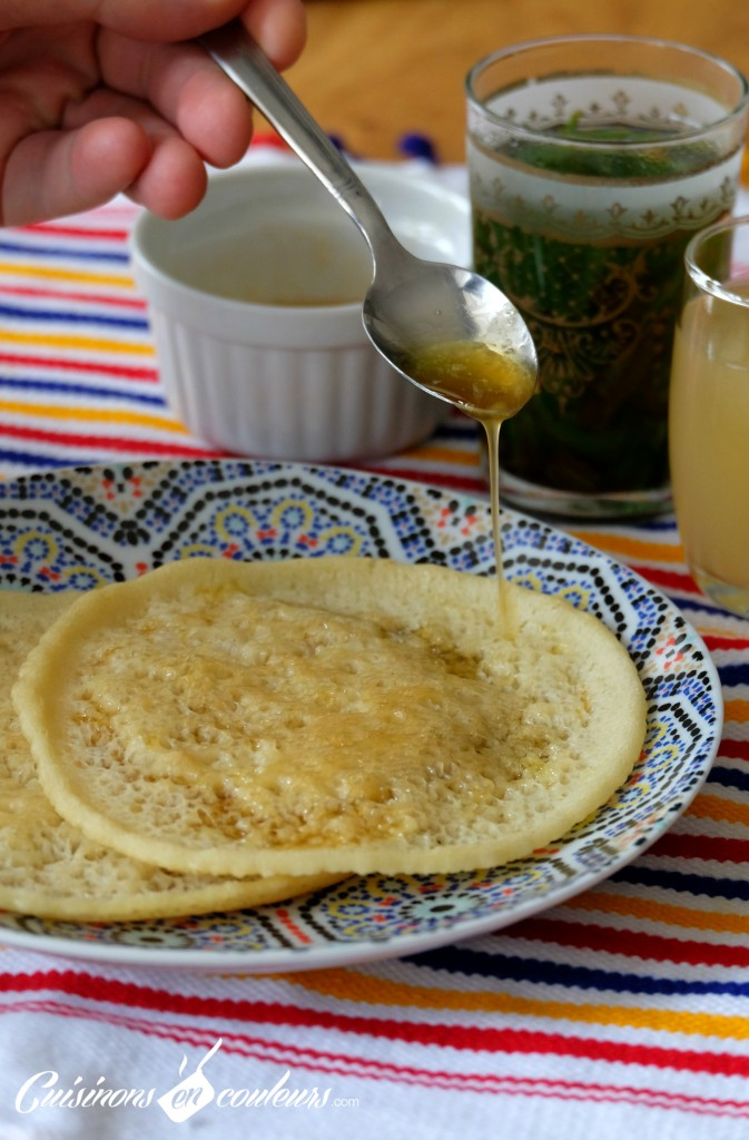 Beghrir - crepes mille trous