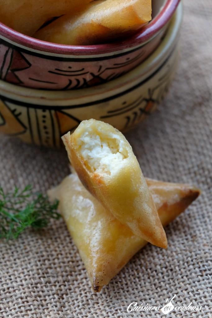 Briouates au fromage Kiri