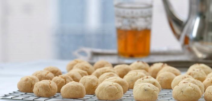 Ghriyba dial zit, Ghriyba lbehla : un gâteau marocain