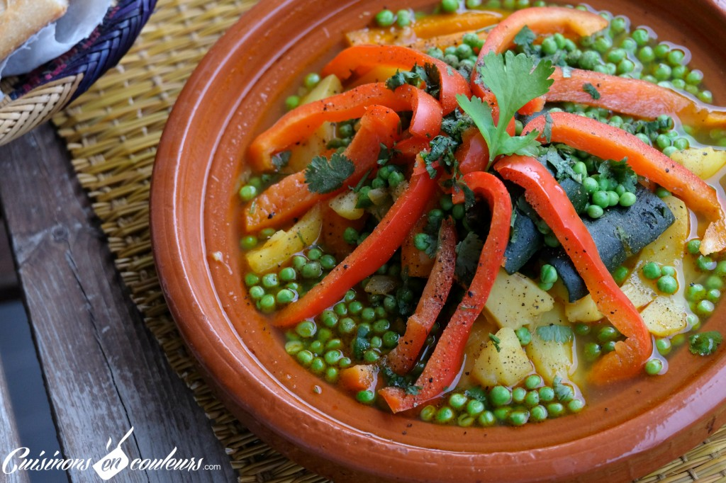 Tajine de veau legumes
