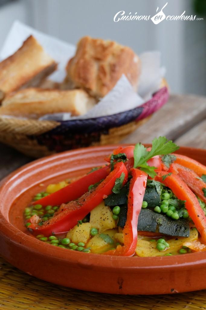Tajine facile a faire aux legumes