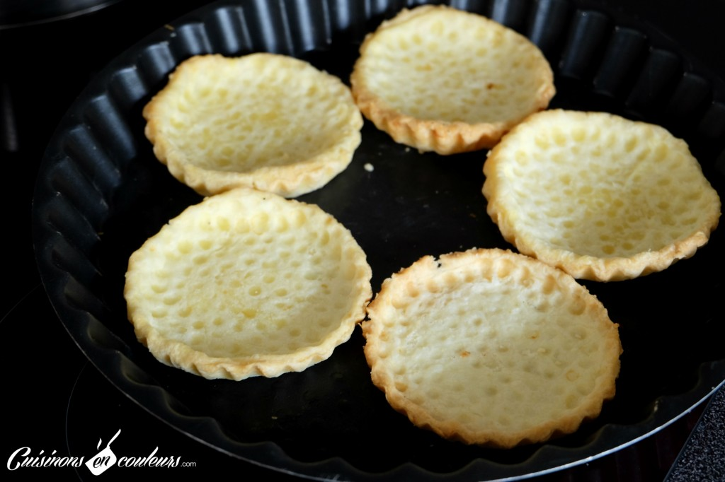 Tartelettes pre-cuites
