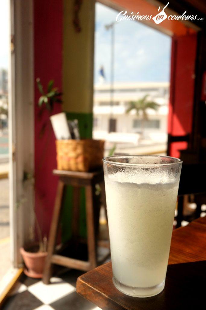 Agua de lima - Mexican drink