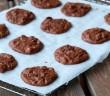 Cookies au chocolat apres cuisson