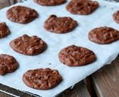 Brownie cookies aux pépites de chocolat et aux noisettes
