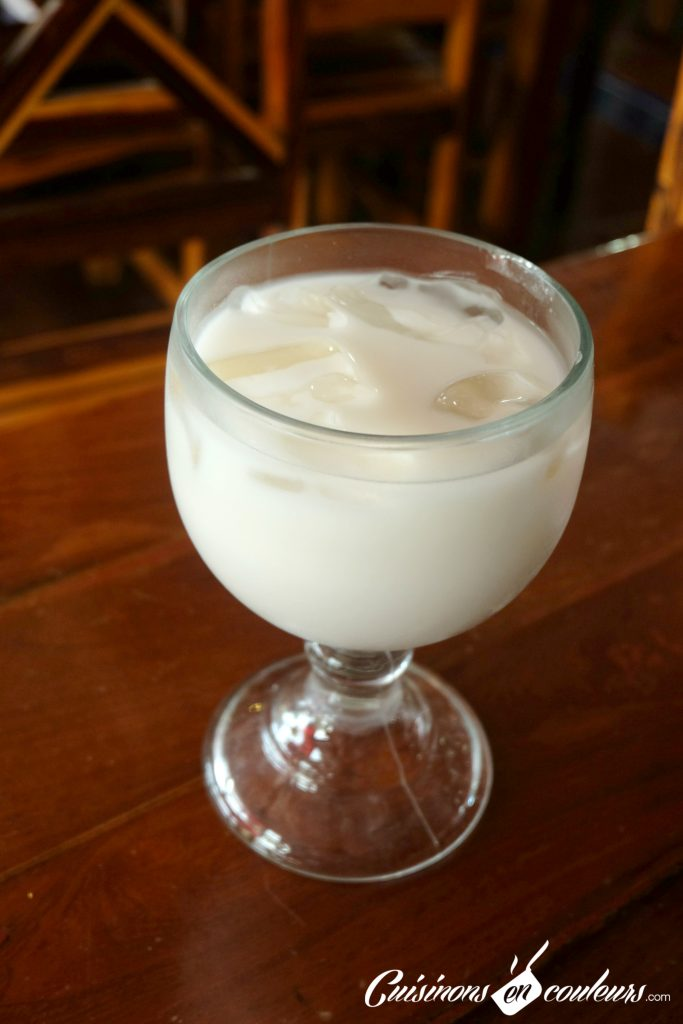 Horchata - Mexican drink