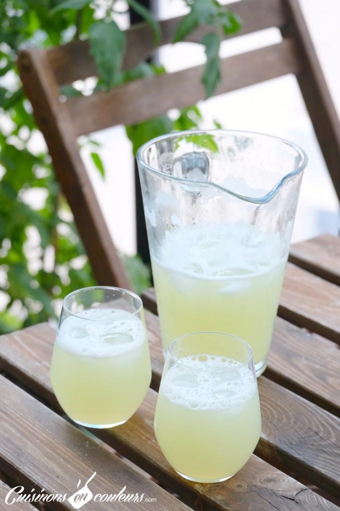 Recette Agua de lima - citronnade mexicaine