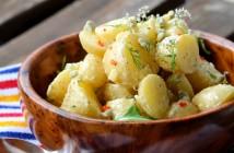 Salade de pommes de terre au citron confit