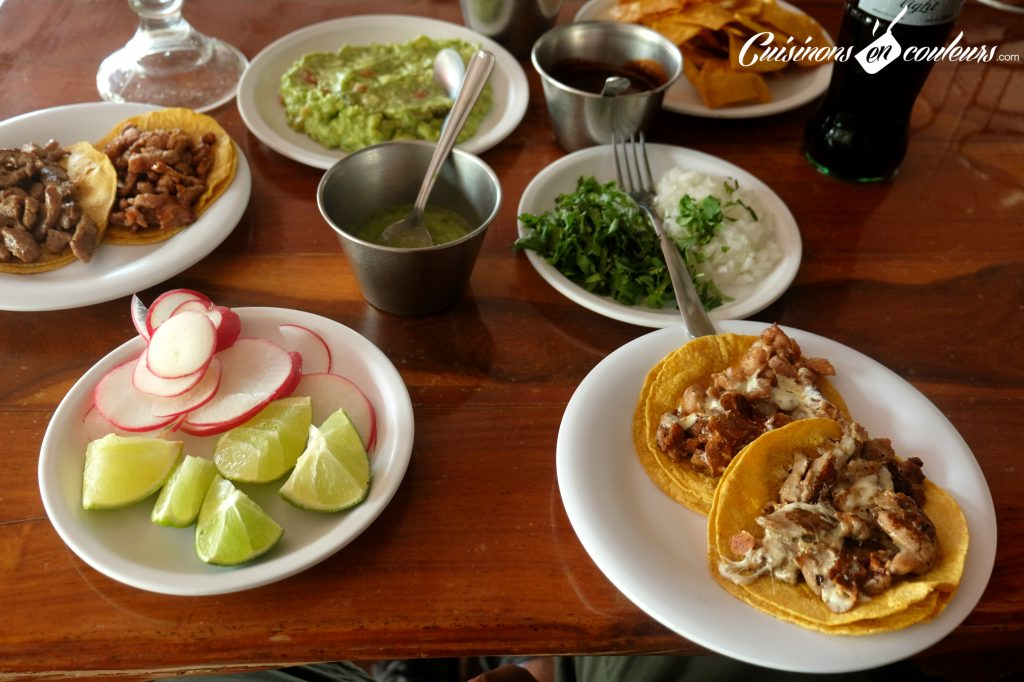 Tacos en Cancun