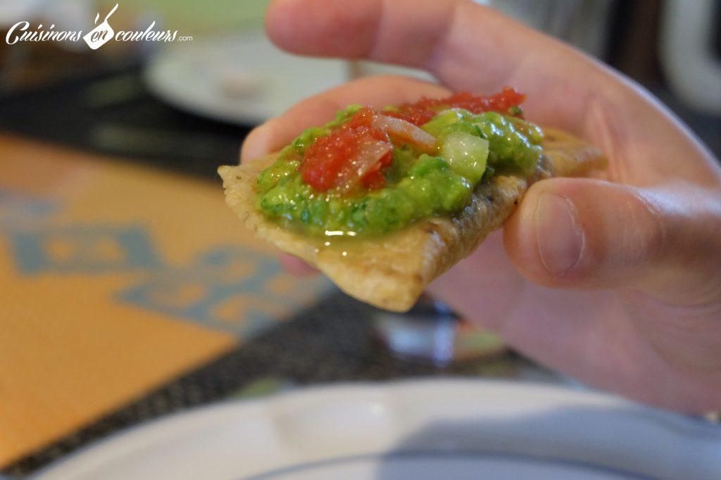 Empanadas con guacamole