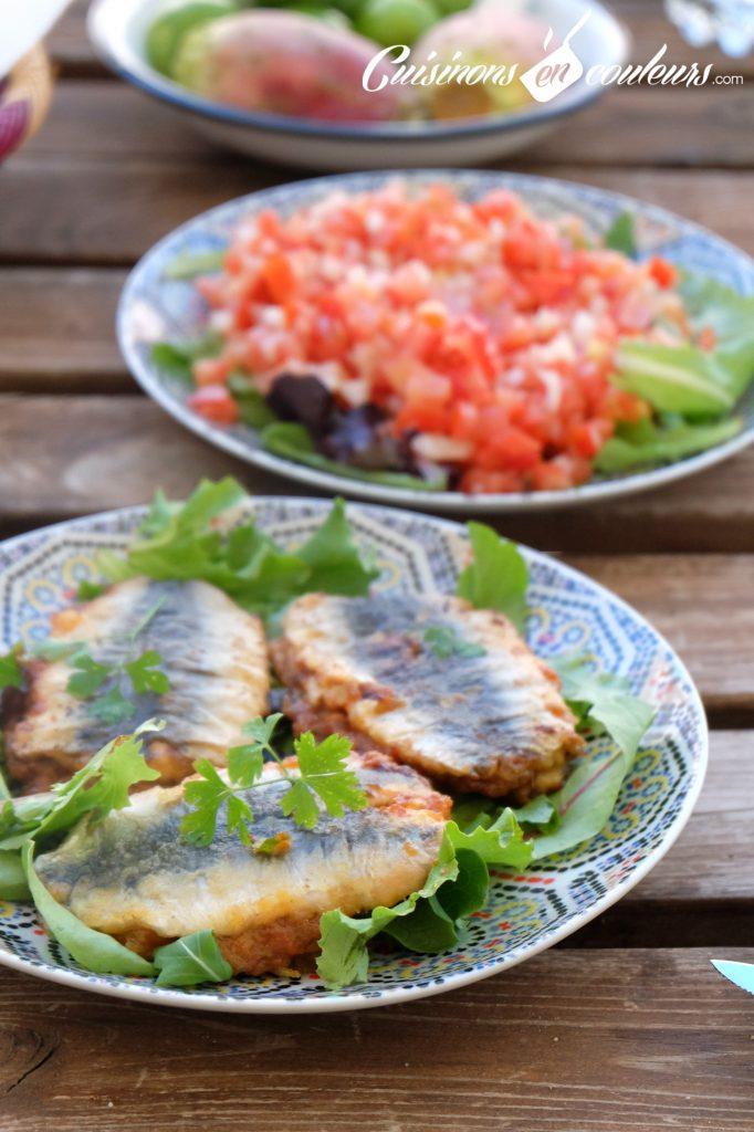 Sardines a la chermoula