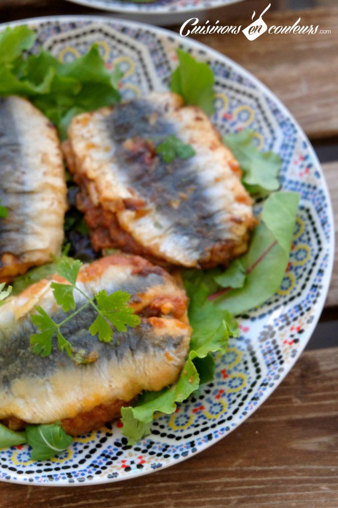 Sardines a la marocaine