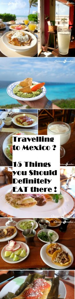 Specialites mexicaines - Mexican food