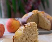 Gateau aux pommes et à la vanille