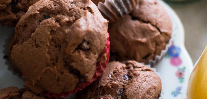 Muffins très chocolatés