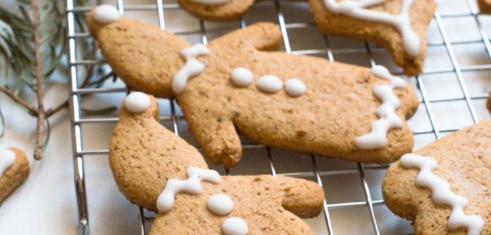Bonhommes en pain d'épices de Noël