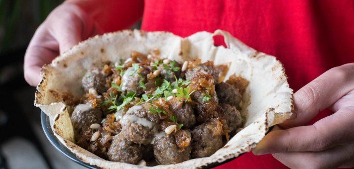 Boulettes de viande hachée à la libanaise : Kefta