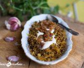 Mujadarra, le riz aux lentilles à la libanaise