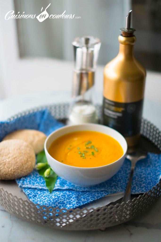 Soupe De Crevettes Aux Carottes Cuisinons En Couleurs