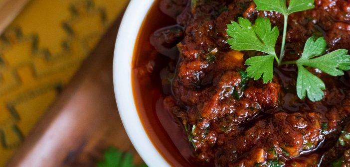 Chermoula, marinade marocaine